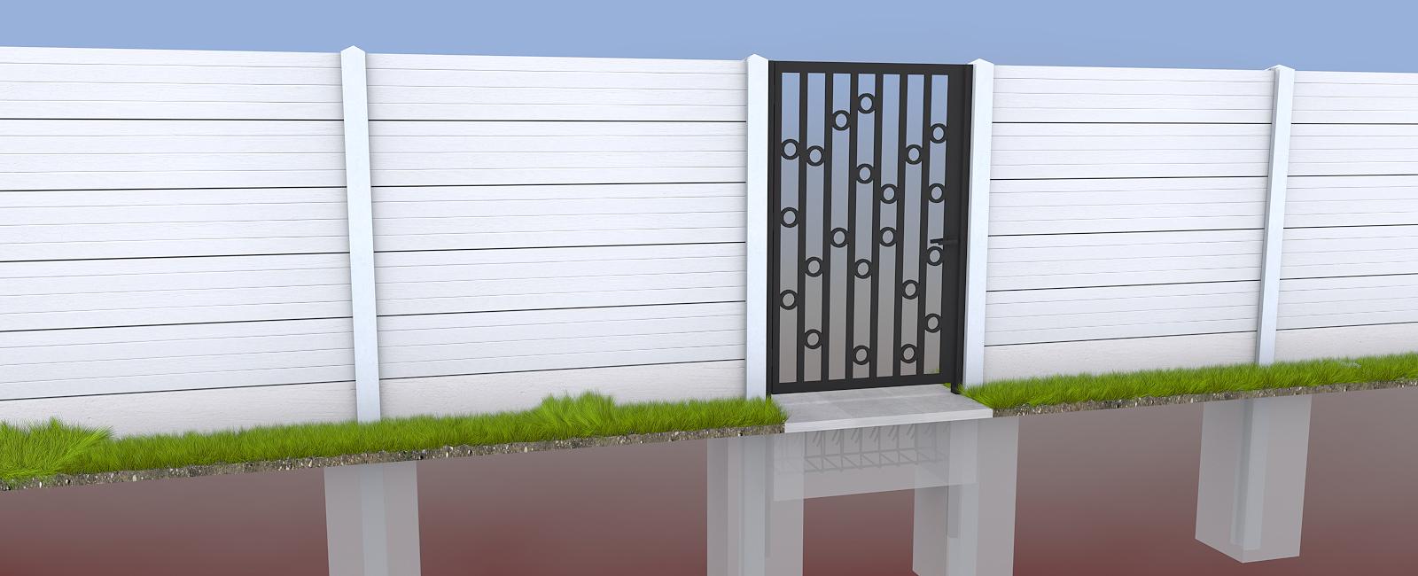 gard prefabricat din beton explicat pe intelesul tuturor. Black Bedroom Furniture Sets. Home Design Ideas