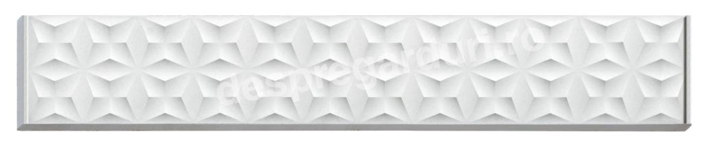Panou gard beton K014 Flower